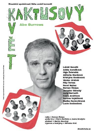 Kaktusový květ - premiéra 2021, Divadelní společnost Háta, plakát