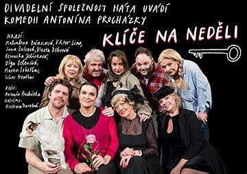 Komedie Klíče na neděli - plakát