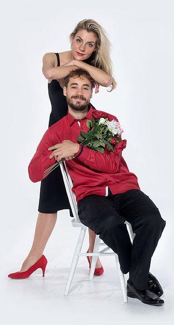 Bára Chybová a  Filip Tomsa, divadelní společnost Háta