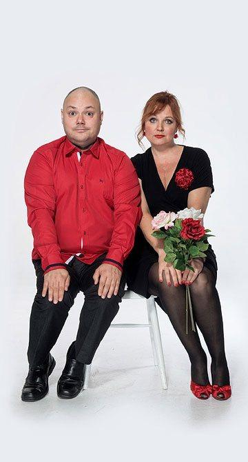Kamila Špráchalová a Martin Sobotka, divadelní společnost Háta